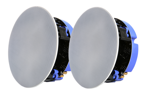 Lithe Audio Bluetooth Ceiling Speaker Pair (Master & Slave) Alexa & Google Compatible  03201